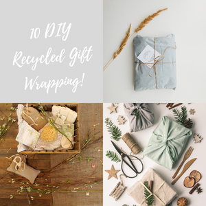 10 DIY Recycled Gift Wrapping