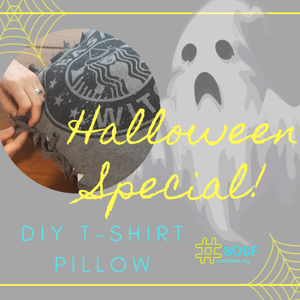 Halloween Special!  DIY T-Shirt Pillow
