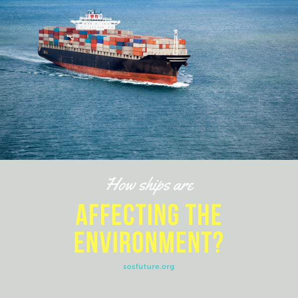 How ships are affecting the environment
