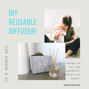 DIY How to Make a Reusable Diffuser? Great For Mother DAY!