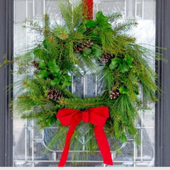 Real Pine Wreaths