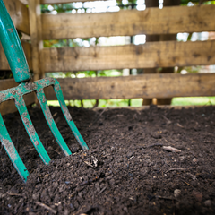 how to compost equipment