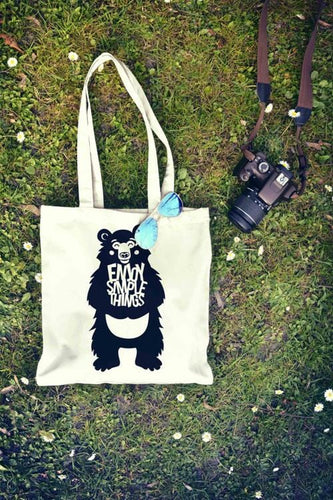 Bear Tote Bag | Reusable Bag