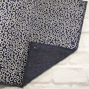 Reusable Paper towel blue and circle