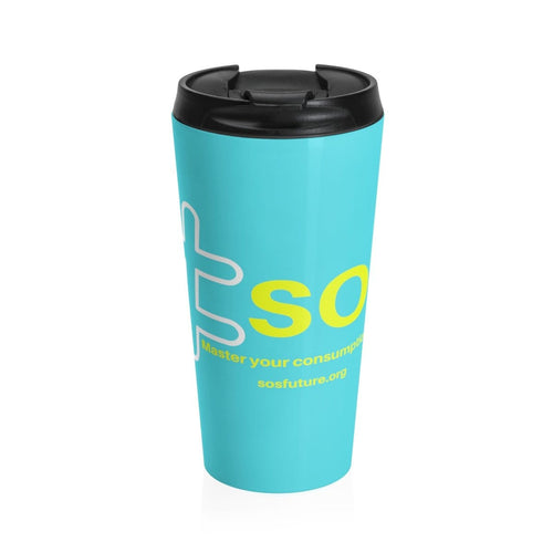 No More disposable cups-Stainless steel mug