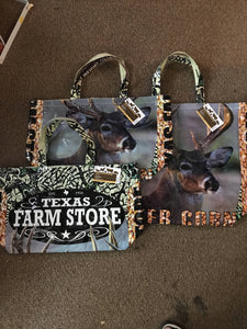 Deer bag tote - Texas Farm Store