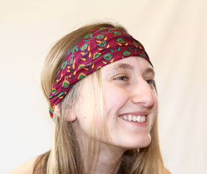 Recycled Silk Headband