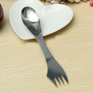 No More Plastic Silverware-Reusable Spork (Spoon, fork and knife!)