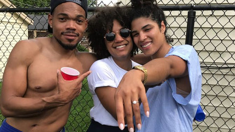 Chance the Rapper Proposes To His Girlfriend At July 4 Barbeque