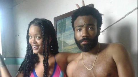Rihanna and Donald Glover Work In New Movie Together