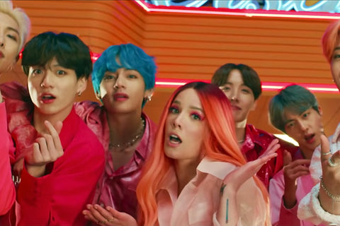 BTS and Halsey Collaboration Breaks YouTube Records