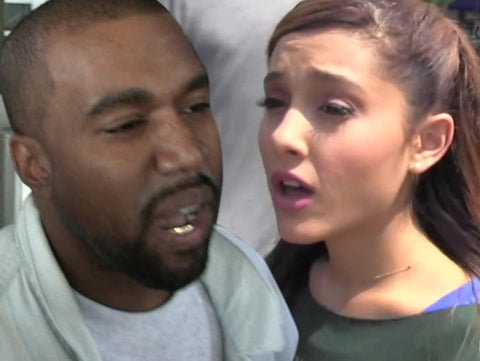 Kanye West Calls Out Ariana Grande For Insensitive Joke