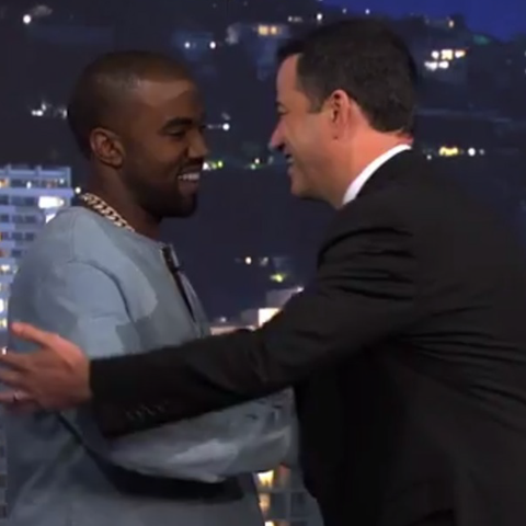 "Kanye West to Guest on ""Kimmel"" This Week"