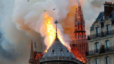 World of Music Pays Tribute After Paris' Notre Dame Cathedral Catches Fire
