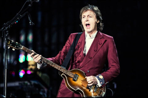 Sir Paul McCartney Returns to Abbey Road Studios to Play New Songs for Fans