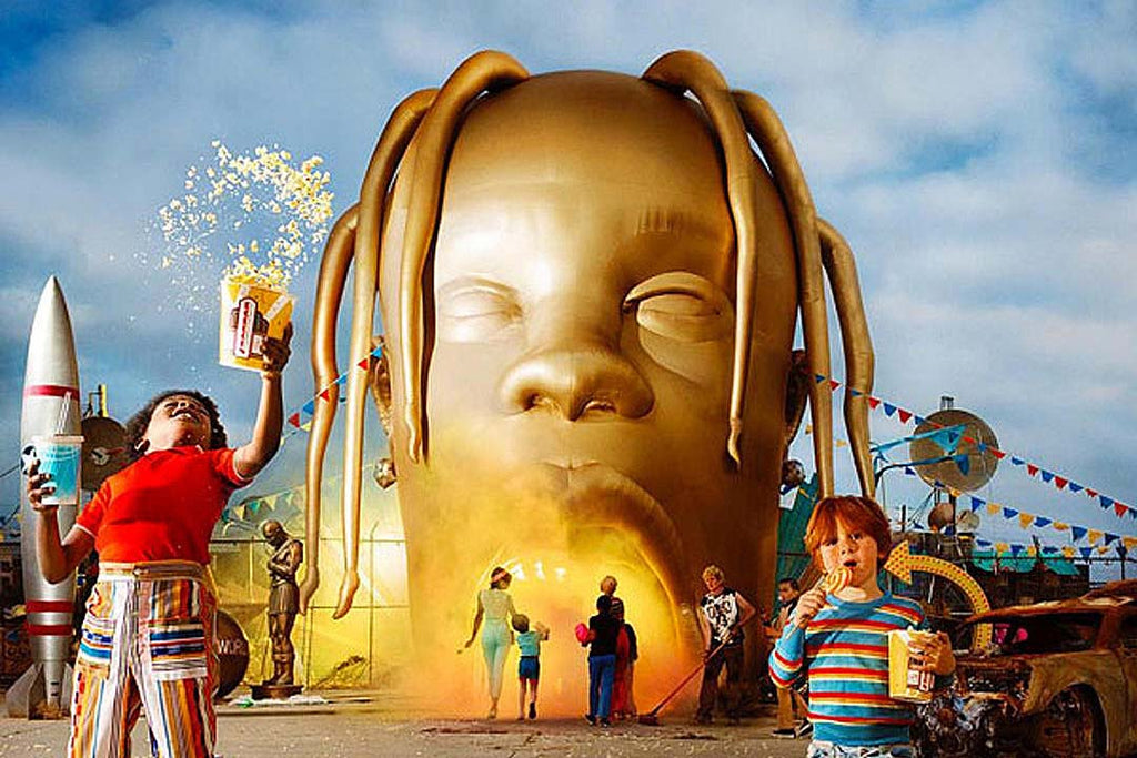 A Star-Studded Astroworld by Travis Scott