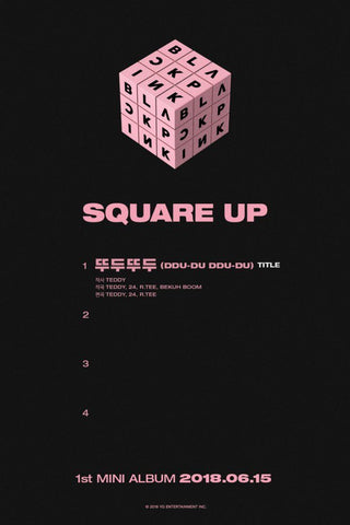 blackpink square up mini album