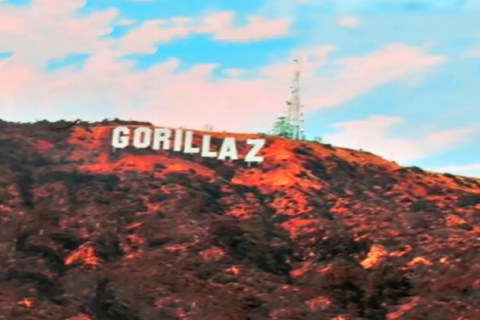 gorillaz hollywood