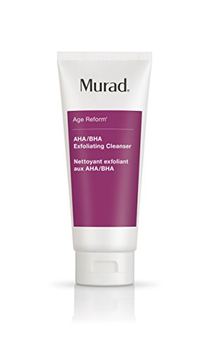 Murad Age Reform AHA/BHA Exfoliating Cleanser - (6.75 fl oz), An Intensive Face Cleanser with a Trio of Exfoliating Acids and Jojoba Skin-Polishing Beads to Reveal a Younger-Looking Complexion