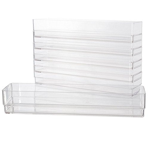 Clear Plastic Drawer Organizers 12