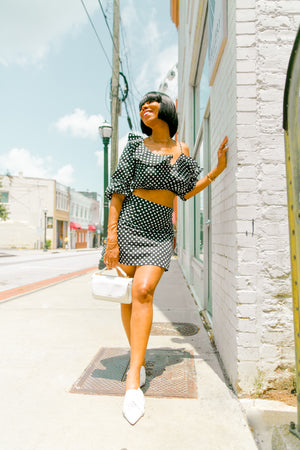 Dots and Ruffles | Two Piece Set