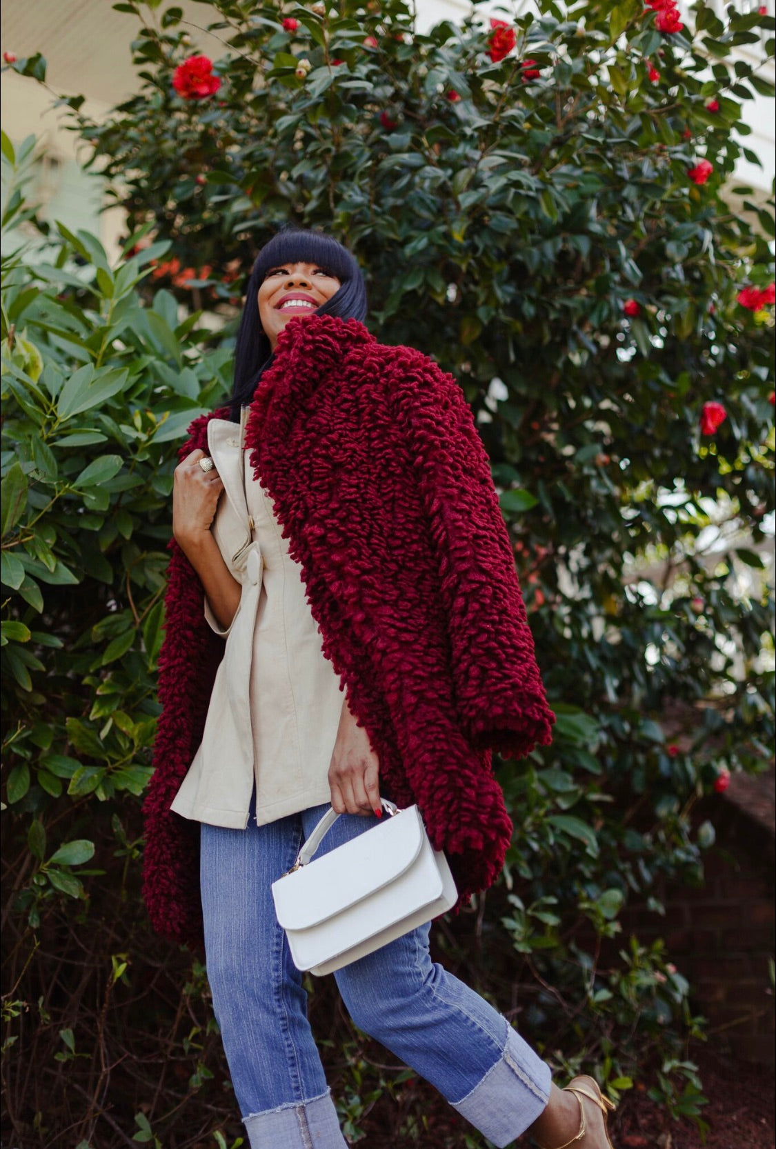 Cozy Chic | Teddy Coat