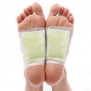 Organic Herbal Cleansing Patches GOLD Premium Detox Foot Pads™ - Crab-Vault