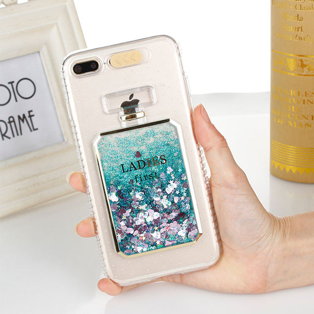 Luxury Bling Dynamic Liquid Quicksand Clear Phone Case For iPhone™ - Crab-Vault