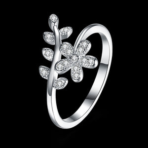 Floral Silver Ring™ for Women