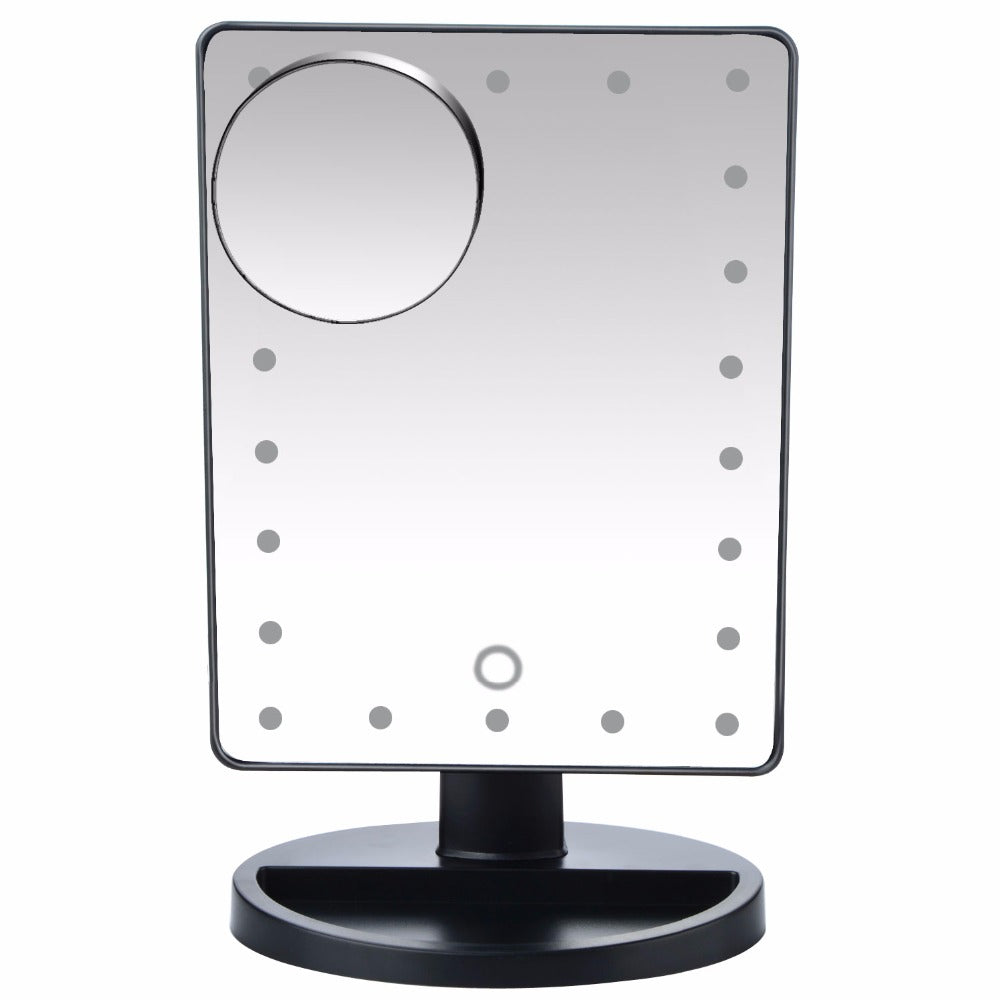 Touch Screen Makeup Vanity Mirror With 22 LED Lights™