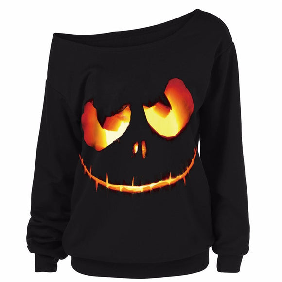 High Fashion Autumn Knitted Halloween Pullovers for Women™ - Crab-Vault