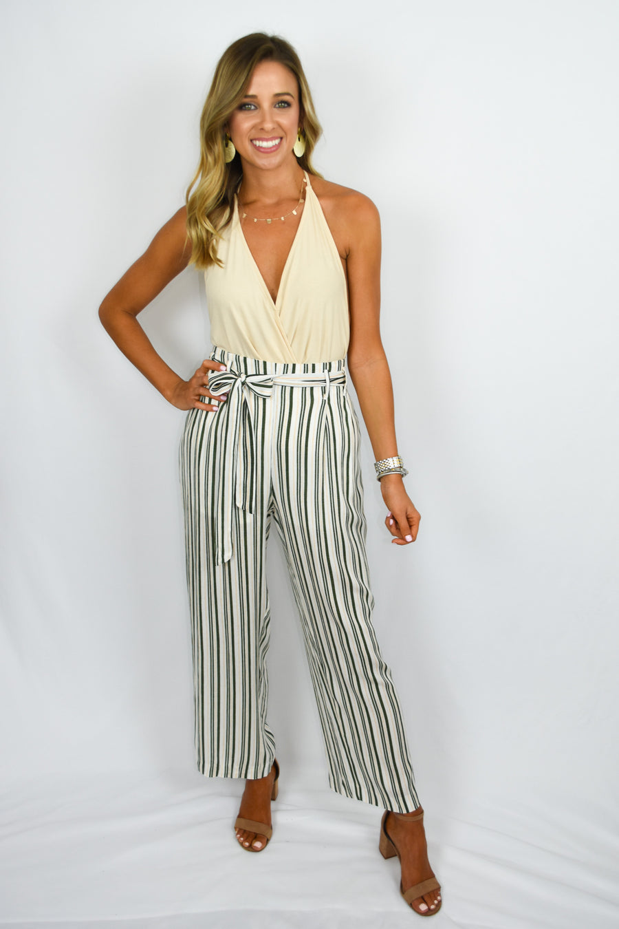 Stripped to Perfections Pants