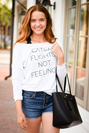 Catch Flights Summer Sweatshirt
