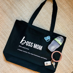 Boss Mom Tote