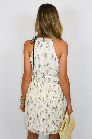 The Kelly | Keyhole Floral Dress
