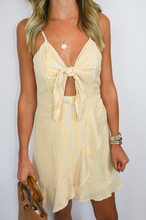 The Penelope | Peek-a-boo Spaghetti Strap Dress