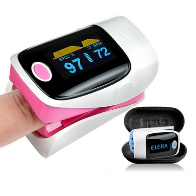 Finger Blood Heart Rate Pulse Oximeter