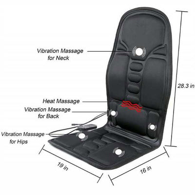 Car Seat Massager – Massaging Heating Pad