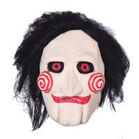 Movie Saw Chainsaw Jigsaw Puppet Masks Halloween