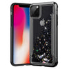 Chrome Electroplate Liquid Quicksand Phone Case For iPhone 11 Pro Max 6 6s 7 8 Plus X XR XS Max Shockproof Back Cover
