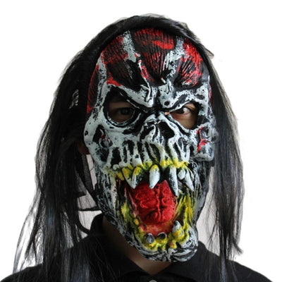 Halloween Horror Mask Creepy Party Scary Mask