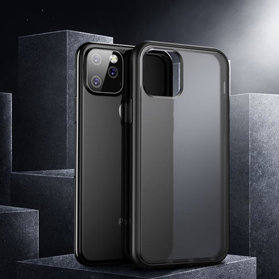 Shockproof Cover for New Apple iPhone 11 Pro Max Military Grade Drop Tested Translucent Matte