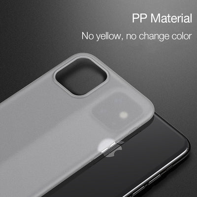 Case for iphone 11 pro max x xs max xr Cover Ultra Yhin Matte Cases