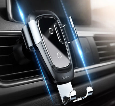 Qi Wireless Car Charger For iPhone 11 Pro Max X Xiaomi Mi 9 Mix 3 Samsung S10 S9 Fast Car Wireless