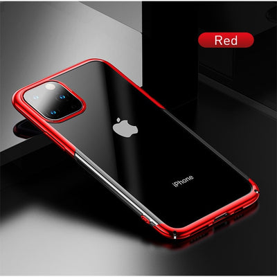 Plating Case For iPhone 11 Pro Max Hard PC Back Cover