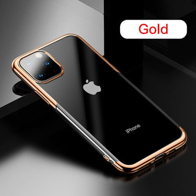 Transparent Case For iPhone 11 Pro Max Case Ultra Thin Cover