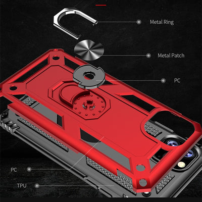Finger Magnetic Kickstand Back Cover For iPhone 11 Pro Max 5 5S SE For iPhone 7 8 6 6S Plus X XS Max XR