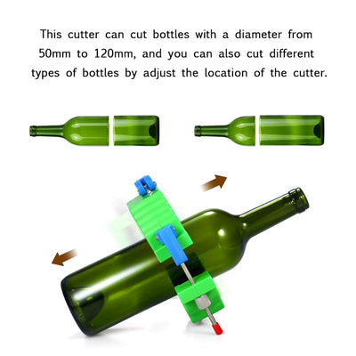 Premium Glass Bottle Cutter Kit