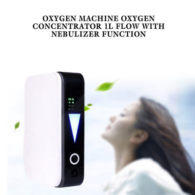 Small Portable Oxygen Concentrator Breathing Tank 1 LPM