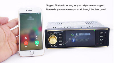 Car Bluetoot Radio 4.1'' Inch